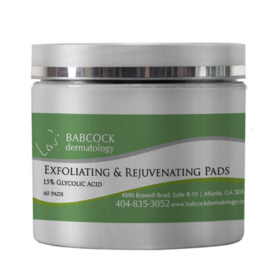 Exfoliating & Rejuvenating Pads